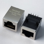 100Base-T Tab Up RJ45 Magjack Connector