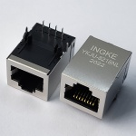 10/100Base-T Tab Up RJ45 Magjack Connector