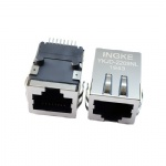10/100Base-T RJ45 Ethernet Connector SMT Magjack