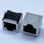 RJ45 Modular Jack Tab Up without Magnetic