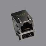 10/100 BASE-T RJ45 with USB