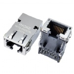10GBase-T RJ45 Ethernet Connector 10GbE Magnetic Jack